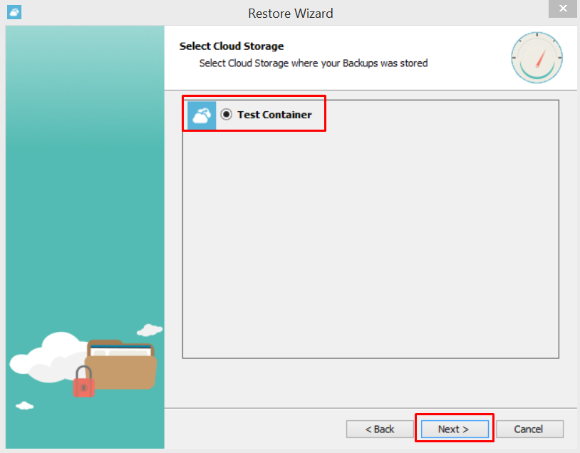 Restoring files and folders with Azure Backup
