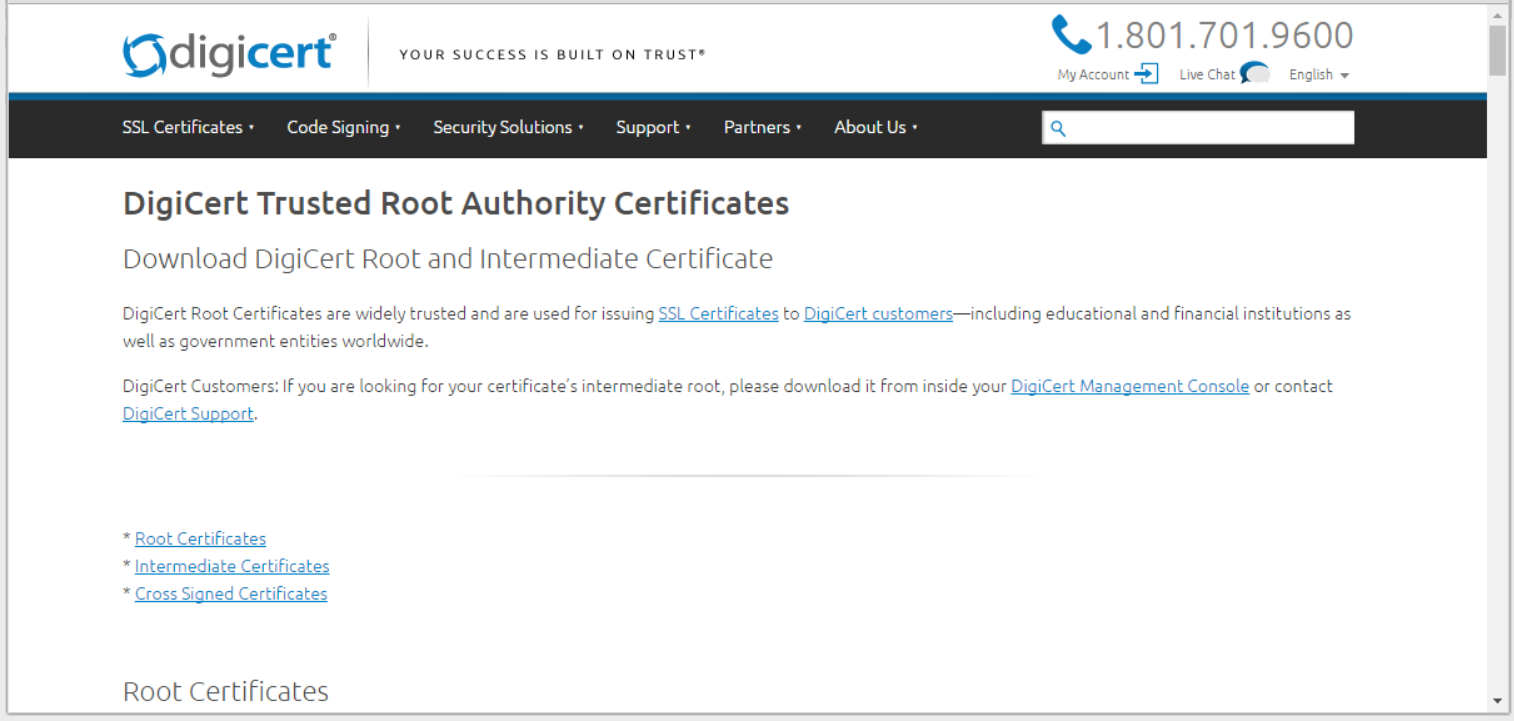 Technical advice for livevault provisioning issues scroll down the page to find the root certificate type that you noted in step 2 1betcityfo Image collections