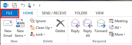 Opening and using shared mailbox, calendar, or contacts, in