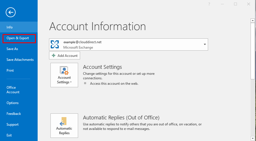 Moving Outlook  pst file content into an Online Archive