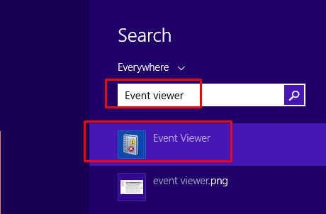 Just After File Explorer Crashes Search For Event Viewer