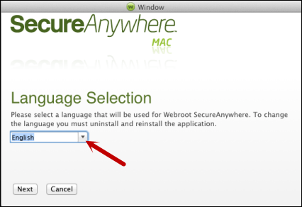 Installing Webroot SecureAnywhere at the Endpoint